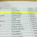 La hermana del ministro Díaz desaprobó el examen pero ingresó igual