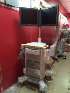 Nuevo equipamiento para el Hospital de Ushuaia.