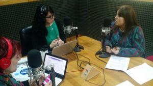La profesora Gabriela Castillo, secretaria de Promoción Social, fue entrevistada por el programa 'Somos Río Grande' que se emite por Radio Universidad (93.5 MHZ) sobre este importante Foro.