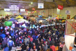 Más de cuatro mil personas disfrutaron de la Expo Niño realizado en el gimnasio del colegio Don Bosco, el pasado sábado y domingo.