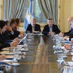 Gobernadores se reúnen con Frigerio