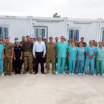 Diputado Gastón Roma compartió con médicos en Haití