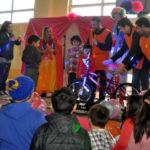 Multitudinaria kermesse solidaria en el colegio Antártida Argentina