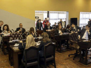 La legisladora Mónica Urquiza reseñó la tercera sesión ordinaria desarrollada ayer, y que pasó casi desapercibida por la falta de contenido.
