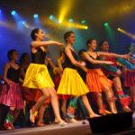 Con más de 50 grupos de danzas se clausuró 'El Arte del Movimiento'