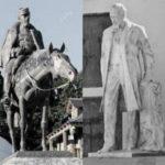 Patagonia en dos esculturas