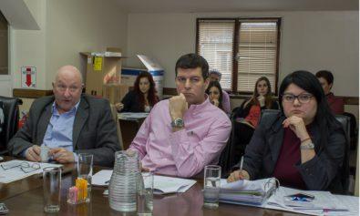 El Ministro de Economía, José Labroca, participó de la reunión de la Comisión de Presupuesto.