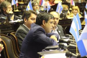 """El diputado Rodríguez evaluó que """"está claro que no tienen la intención de apoyar la producción nacional, la industria y la generación de mano de obra""""."""