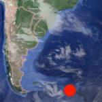 Un sismo sacudió las islas Georgias del Sur