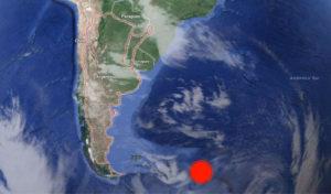 El Instituto Nacional de Prevención Sísmica de Argentina ubicado en San Juan reportó el sismo, aunque aún no las réplicas del mismo.