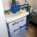 Fueguinos diseñan un tanque de agua que puede instalarse en interiores