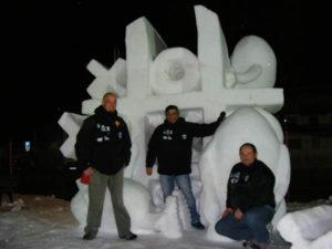 Opus G - Equipo Argentino de Escultura en Nieve sigue cosechando triunfos internacionales para Argentina y nuestra provincia.