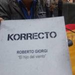 "Roberto Giorgi presenta su nueva novela ""Korrecto"""