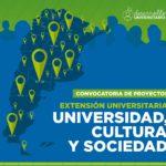 Continúa abierta la convocatoria de Proyectos de Extensión Universitaria
