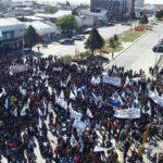 Más de cinco mil personas se manifestaron en defensa de la industria fueguina y los puestos de trabajo