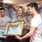 """Bertone reconoció como """"Personalidades Destacadas del Deporte"""" a Alamiro y Constantino Vaporaki"""