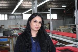 """La referente de la fábrica recuperada Renacer Mónica Acosta se sumó a la medida dispuesta por la UOM en el día de ayer en esta ciudad, y fustigó que """"la apertura de importaciones debe dejar de ser un escollo ya que conspira contra los productos locales""""."""