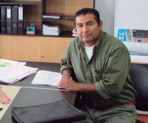 Ariel Carrasco, presidente de la Cámara de Comercio de Tolhuin.