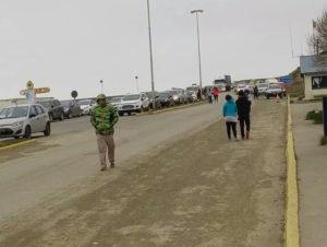 Un total de 8691 personas realizaron trámites fronterizos en San Sebastián. 5122 fueguinos salieron de la provincia, y hasta las 20 horas de este lunes, unas 3569 habían ingresado.