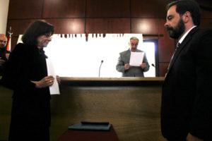 Se tomó formal juramento al Dr. Eduardo López, como integrante del Tribunal de Juicio del Distrito Judicial Norte.