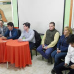 'Tito' Stefani se reunió con referentes de la Margen Sur