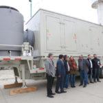 Adquieren nueva turbina de 5,5 megavatios