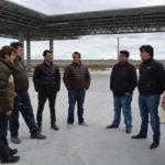 Concejales e Intendente visitaron la obra de la nueva estación de servicio YPF