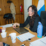 """""""Necesitamos realizarnos y prosperar en paz"""", expresó la secretaria Laura Ávila"""