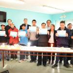 Alumnos del C.A.A.D. que realizaron curso de electricidad recibieron sus certificados