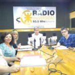 Los candidatos de la Lista 26 Naranja expusieron por Radio Universidad
