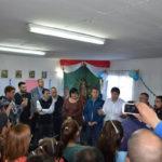 El intendente Melella anunció a los vecinos pavimento para nuevos barrios