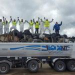 'Basura Cero' concretó la octava limpieza de la Ruta 3