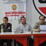Pablo Canga es el nuevo presidente de la Convención radical