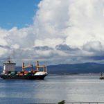 600 toneladas de chatarra fueron cargadas al barco que transporta contenedores
