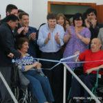 El intendente Melella encabezó la inauguración de la pileta terapéutica