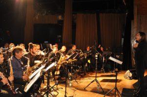 La banda municipal de música cerró el año con un brillante concierto.