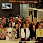 La doctora Battaini participó de un encuentro de jueces con periodistas del Grupo Crónica