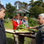 El Director Nacional del INTA recorrió la zona productiva de Puerto Almanza