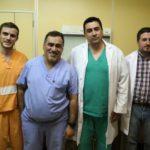 Primera cirugía en la Provincia a paciente con problema auditivo unilateral
