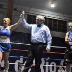 Exitoso debut profesional de la boxeadora Rosita Alvarado