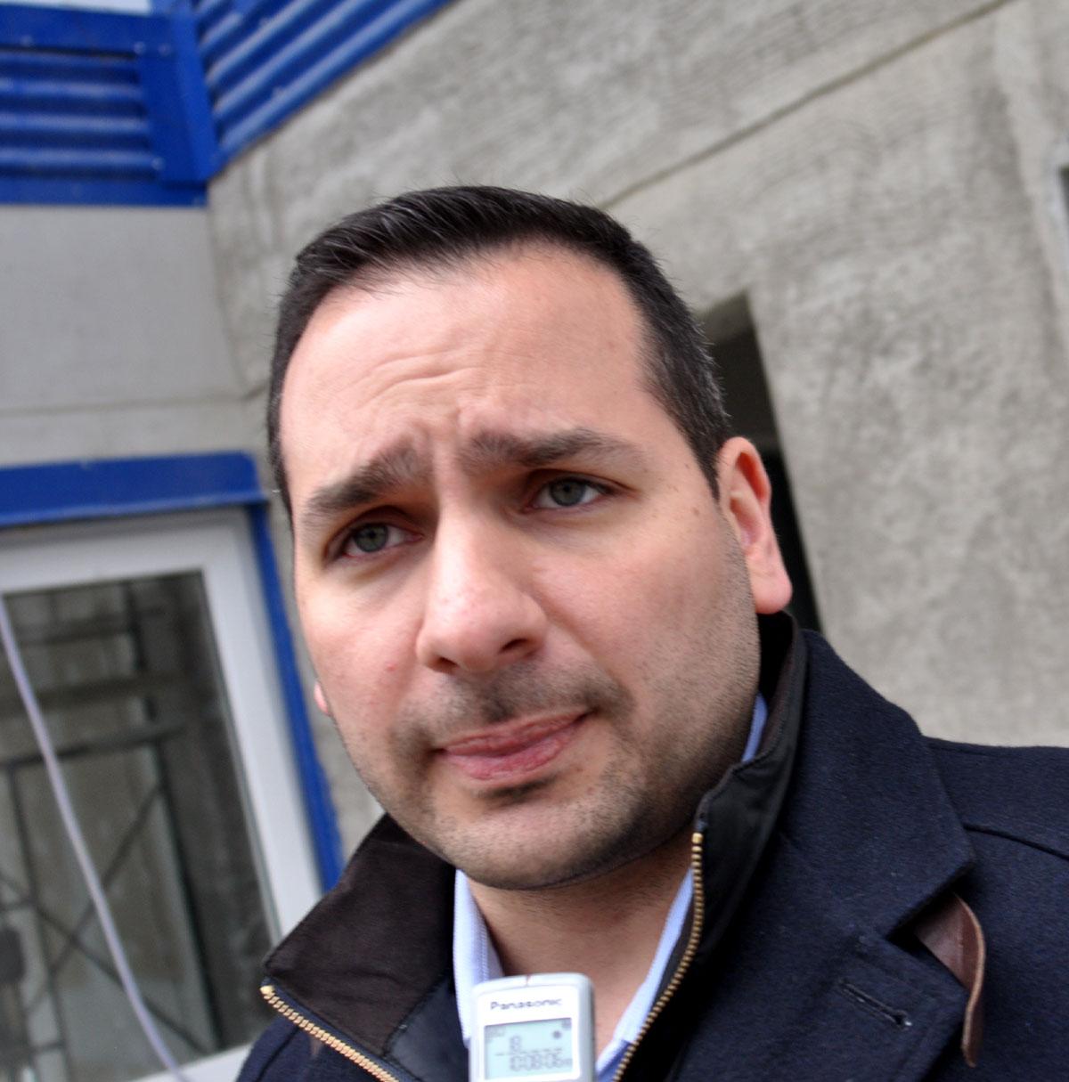 Martín Gessaga, flamante secretario de Obras Públicas de la Provincia.