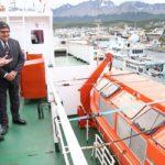 El Hespérides amarró al puerto de Ushuaia