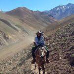 Una fueguina participa del Cruce de los Andes