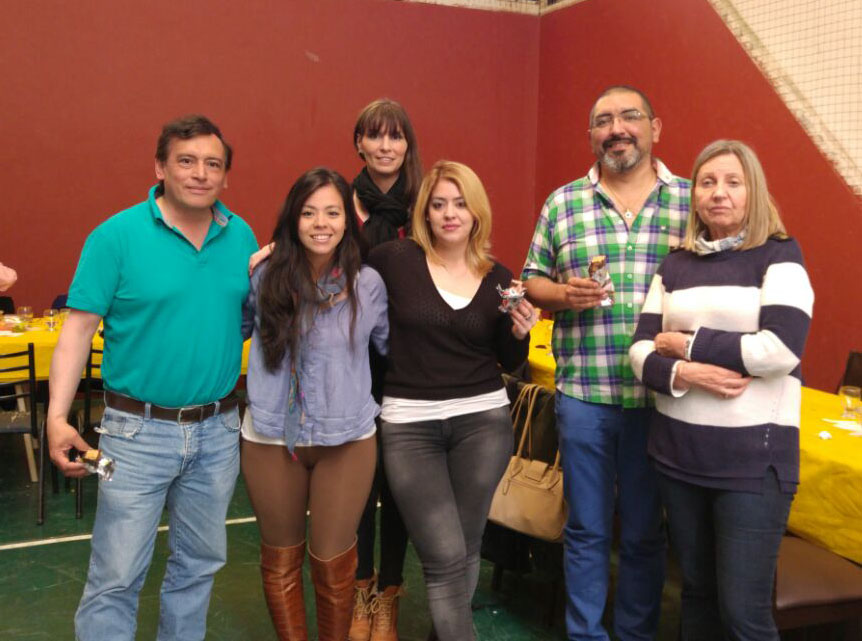 Parte del equipo de la Universidad Tecnológica Nacional, Facultad Regional Río Grande.
