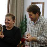 Melella homenajeó a la primera inspectora de tránsito