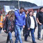 Vuoto junto al SOEM recorrieron las viviendas en el barrio municipal