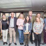 """La Gobernadora recibió a la ganadora del premio """"Antártida Educa 2016"""""""