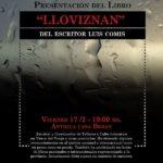 """El libro """"Lloviznan"""" se presentará el próximo viernes"""