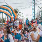 El Kaupén se vistió de fiesta este sábado en la celebración del carnaval