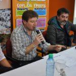 El intendente Gustavo Melella presentó el plan de infraestructura deportiva